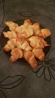 Croissants au saumon avec le Croissants party