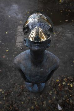 Rain ~ Nazar Bilyk        Materials: Bronze and Glass