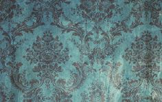 ダマスク集より Teal Brown Grunge Damask