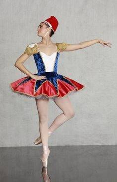 TOY SOLDIER  BALLET / DANCE /THEATER COSTUME Nutcracker Collection http://www.georgiegirlcostumes.com/ 1-800-292-1902