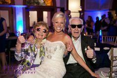 Ashton Depot, Fort Worth - Reception #FortWorthWeddings #Reception #Sunglasses #Grandparents #Fun #Bride #Classic