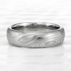 Damascus Ring, Damascus Steel, Alternative Wedding Rings, Unique Rings, Fashion Rings, Wedding Bands, Rings For Men, Silver Rings, Engagement Rings