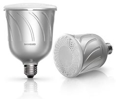 Pulse Dimmable LED Light with Wireless Bluetooth Speakers (Pair), Powered by JBL Sengled