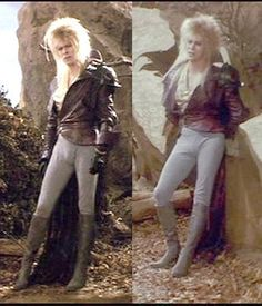 David Bowie - Labyrinth Jareth, The Goblin King It was this movie...this scene...that made me fall in love with Bowie.