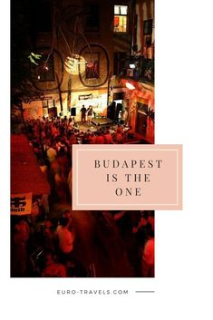 Whether you are native to Budapest or visiting this beautiful city, you will definitely want to check out the nightlife. Budapest Guide, Visit Budapest, Budapest Travel, Budapest Hungary, Budapest Nightlife, Budapest Christmas, Nightclub Bar, Budapest Things To Do In, Jazz Bar