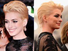 Anne Hathaway Bleaches Her Hair Blonde - VH1