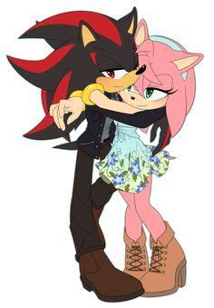 doing Shadamy? +Just Shadamy doodles + Amy Rose, Shadow And Amy, Sonic And Shadow, Fluttershy, Shadow The Hedgehog, Sonic The Hedgehog, Shadamy Comics, Sonic And Amy, Legends And Myths