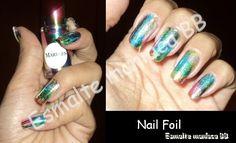 Um blog sobre esmaltes e cosméticos em geral. Foil Nail Art, Foil Nails, Es Nails, Nail Art Designs Images, Top Nail, Blog, Marbles, Nice, General Goods