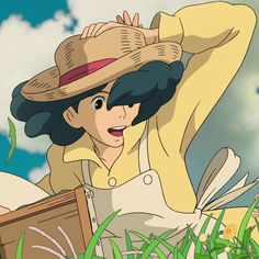 Studio Ghibli Characters, Studio Ghibli Movies, Anime Characters, Hayao Miyazaki, Personajes Studio Ghibli, Pom Poko, Manga, Le Vent Se Leve, Wind Rises
