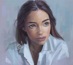 Hiba Tan, Girly M, Mixed Media Artists, Female Art, Art Inspo, Character Inspiration, Art Drawings, Digital Art, Instagram Repost