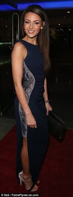 Lovely: The 27-year-old actress looked great as she showed off her enviable pins in the na...