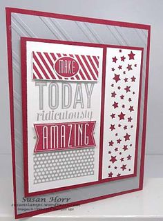 Amazing Birthday, Confetti Star Punch, Stampin Up, susanstamps.wordpress.com