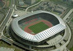 Yokohama International Stadium was the venue used for the 2002 World Cup Final. The stadium in Japan holds over Rugby World Cup, Fifa World Cup, Yokohama, Nagoya Grampus, Nakagin Capsule Tower, 2002 World Cup, Nissan Stadium, Sport Park, Pool Games