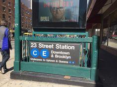 O metro é uma muitas razões que diferem Nova Iorque do resto dos EUA. Viva a Maçã 🍎 🗽