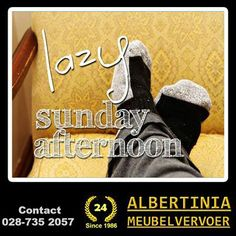 A Day Free From Work. It Is A Day To Connect With Your Long Lost Friends. Go Ahead And Call One Of Them And Make Them Feel Special. Do Something Different Today. Albertinia Meubelvervoer trusts that you will have a brilliant Sunday. #Sunday #relax