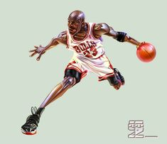Michael Jordan2 by A-BB.deviantart.com on @DeviantArt