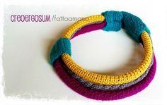 neklace crochet by  creoergosum-handmade