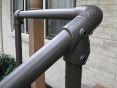 Simple Rail Handrail Kits Are Easy To Order, Easy To Install And Can Be  Added. Outdoor Stair ...