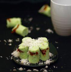 Kue Putu [Indonesian Putu Bamboo Cake].......Beautiful!  @endy daniel