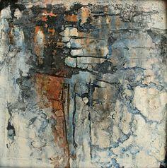 Mischtechnik auf Leinwand 30x30 x2cm gerahmt Jimdo GmbH abstract art painting #abstractart