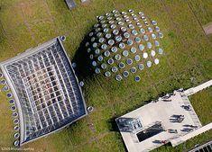 California Academy of Sciences - Renzo Piano Architecture Board, Green Architecture, Sustainable Architecture, Contemporary Architecture, Architecture Details, Landscape Architecture, Pavilion Architecture, Residential Architecture, Renzo Piano
