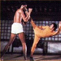 Bruce fighting Kareem