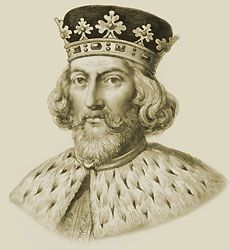 King John was born from 1167 to 1216. He was born on Christmas Eve and was the younger son of Henry II. As a child, he was intended to be the overshadowed by his older brother Richard. John developed a reputation for rages which led to foaming in his mouth. He got the nickname John Lackland because when his brother died he didn't leave him with any land. In 1199! Richard died in France and John became king of England.