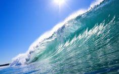Big ocean waves wallpapers HD.