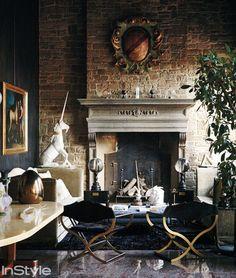 La Dolce Villa: Inside Roberto Cavalli's Opulent Florence Estate - The Formal Sitting Room  - from InStyle.com