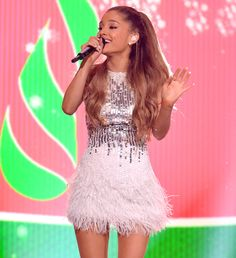 """Ariana Grande Releases Holiday Song """"Santa Tell Me"""" #InStyle"""
