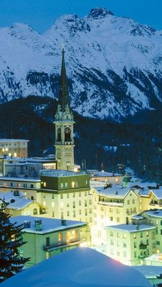 Small village of Grisons, #Switzerland