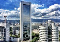 View from the 17F - Portopia Hotel - Kobe Shi. Photo © Copyright Yves Philippe