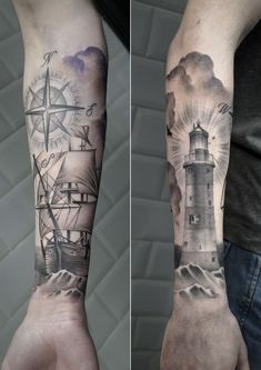 438919cecda2058f914344332276250b--lighthouse-sleeve-tattoo-lighthouse-tattoo-ideas.jpg 736×1,041 pixels