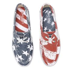 1b2754d41 Sperry Men s Bahama Stars And Stripes Casual Shoes - Sun   Ski Sports