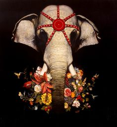 Incantation by Martin Wittfooth