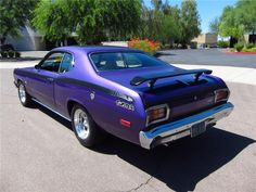 purple Plymouth Duster | 1974 PLYMOUTH DUSTER 2 DOOR HARDTOP