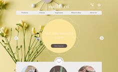 beautiful website design  for http://www.earthbornpaints.co.uk/ by Do Good Branding