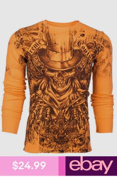 Affliction T-Shirts Clothing, Shoes & Accessories Cool Shirts, T Shirts, Long Sleeve Shirts, Affliction Clothing, Independent Clothing, Cool Outfits, Casual Outfits, Moda Formal, Shirt Store