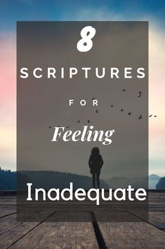 Sometimes we all feel like we're not good enough. Check out these 8 scriptures for feeling inadequate to fight against lies of the enemy! Motivational Bible Verses, Inspirational Bible Quotes, Encouraging Bible Verses, Scripture Verses, Bible Scriptures, Christian Life, Christian Quotes, Christian Women, Christian Living