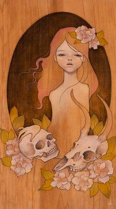 Audrey Kawasaki Isabel Print