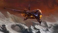 concept ships: MONTHLY HEADER #90: Sergey Glushakov