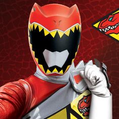 power rangers dino charge red ranger - Google Search