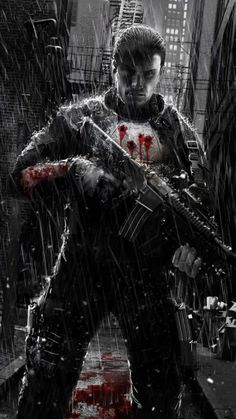 Punisher1.0 by uncannyknack on deviantART