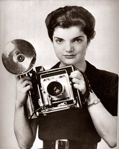 """Jackie Kennedy: """"I always wanted to be some kind of writer or newspaper reporter. But after college...I did other things."""""""