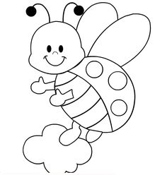 Ladybug Coloring Pages For Preschoolers: These ladybug coloring pages printable will help your girl color her favorite bug – the ladybug – in its different moods and avatars.