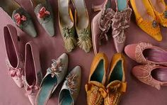 Shoes from Marie Antionette
