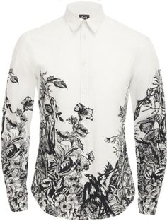 Alexander McQueen printed shirt !!