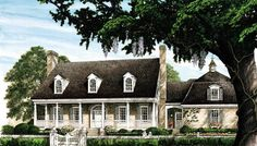House Plan 86227 | Cape Cod Colonial Cottage Country Farmhouse Southern Traditional Plan with 3377 Sq. Ft., 4 Bedrooms, 5 Bathrooms, 2 Car Garage at family home plans