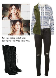 Malia Tate - tw / teen wolf by shadyannon on Polyvore featuring polyvore fashion style LE3NO rag & bone clothing