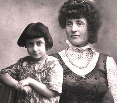Ida Dalser and young Benito Albino Mussolini